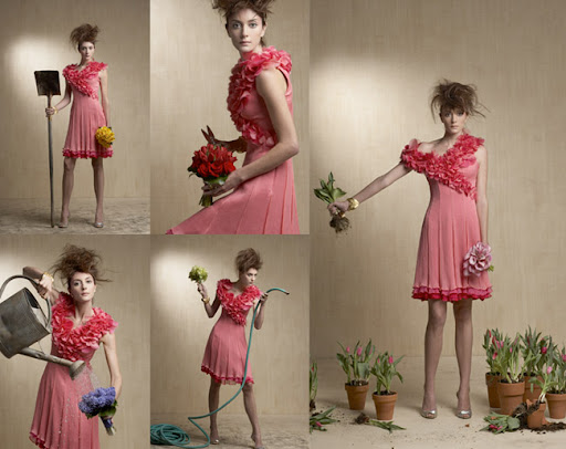 Bride and Bloom Bridesmaid dresses and bouquets