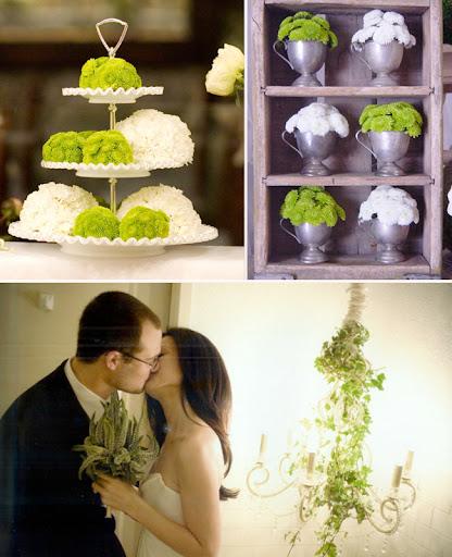 Dandelion ranch los angeles green wedding flowers photo