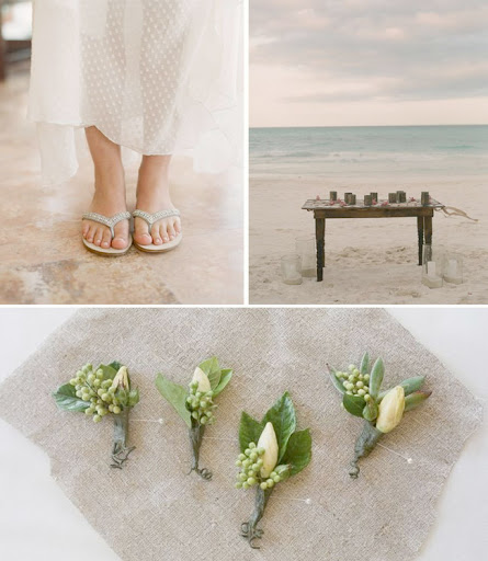 Rustic Beach Wedding Inspiration