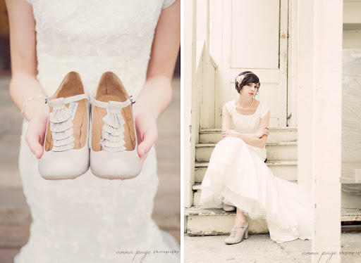 Bridal portraits by Anna Page