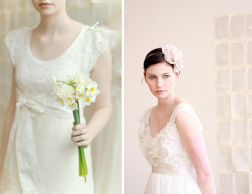 Twigs and Honey headpieces for the bride