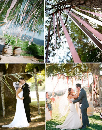 wedding ribbons at your ceremony