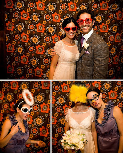 wedding photo booth fabric