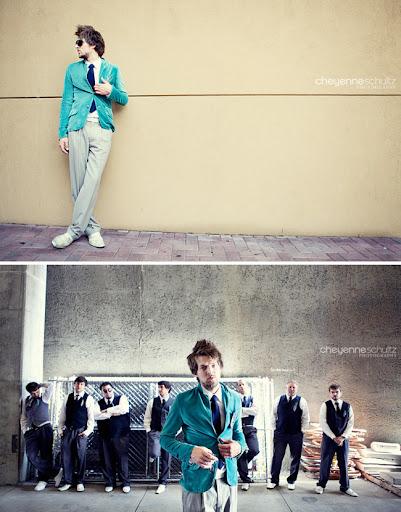 groom turquoise suit groomsmen vests