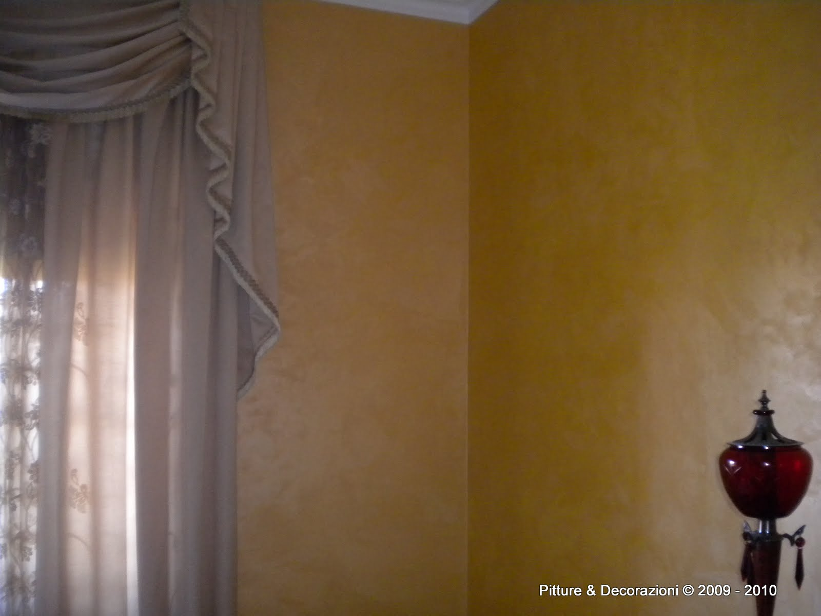 pitture decorazioni ottocento antico velluto oikos