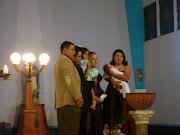 Bautismo del hijo de Jaime Cuenca y Maribel Gomez