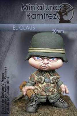 El Claus - Miniatures Ramirez Novelty Figure