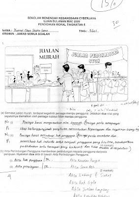 Koleksi Soalan Peperiksaan Akhir Tahun Matematik Tambahan Tingkatan 4