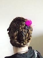 tutoriel de coiffure, tresse coiffure