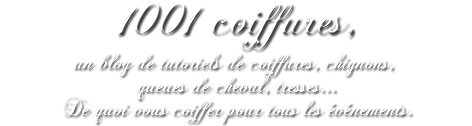 mille et une coiffures, un blog de tutoriels de coiffures pour cheveux longs
