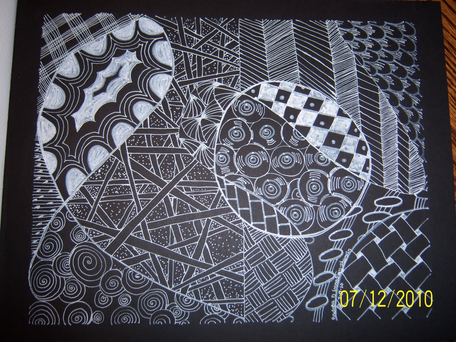 Cool Designs Black And White On Paper Cookie's Wo...