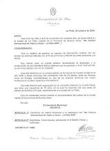 Declaración de Interés municipal