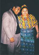 Vilmar Guarany e Rigoberta Menchú - Prêmio Nobel da Paz de 1992