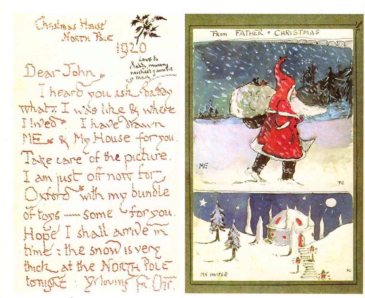 Le Lettere Di Babbo Natale.Lettere Di Babbo Natale Su Luce Che Filtra
