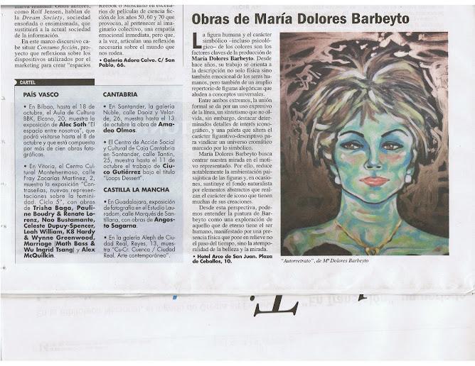 EL PUNTO DE LAS ARTES FECHA DEL 26 DE SEPTIEMBRE AL 2 DE OCTUBRE-2008