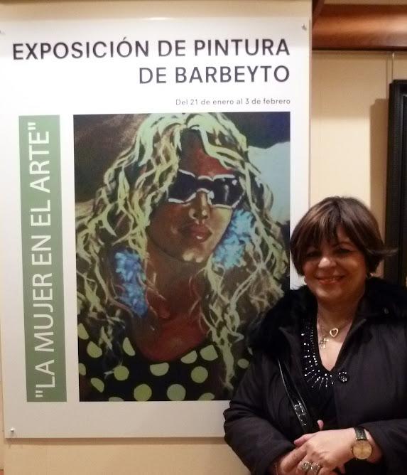 FOTOGRAFIAS PERSONALES-EXPOSICION DE BARBEYTO EN EL CORTE INGLES DE ALICANTE