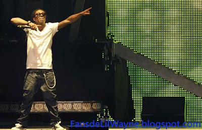 Imagen de Lil Wayne en un concierto