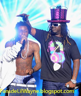 Imagen de Lil Wayne y T-Pain en los Bet Hip Hop Awards