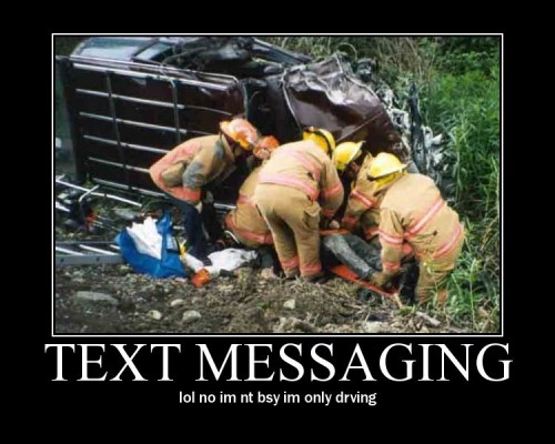 Car Crash Text Car Crash Commercial Texting