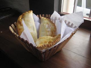 tasty empanada in montevideo