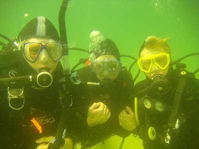 Scuba Sue and Boo!