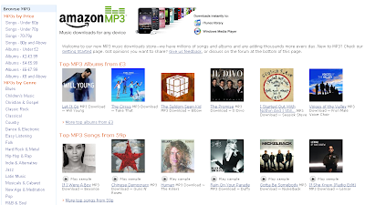 Amazon MP3 Download Service