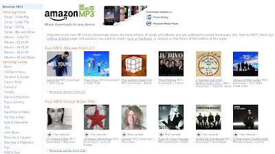 Amazon MP3 Download Service