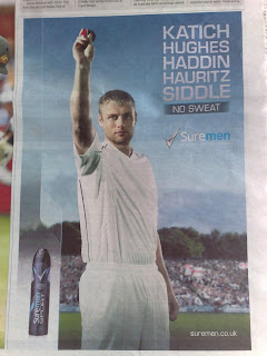 Sure Advert - Flintoff - No Sweat