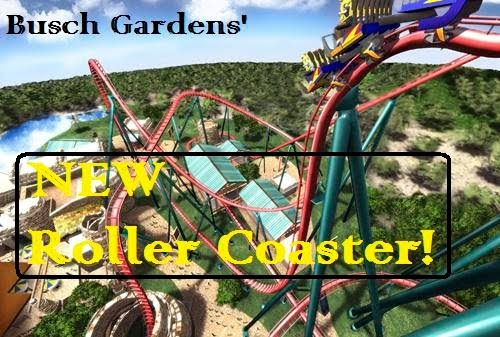 New Roller Coaster At Busch Gardens