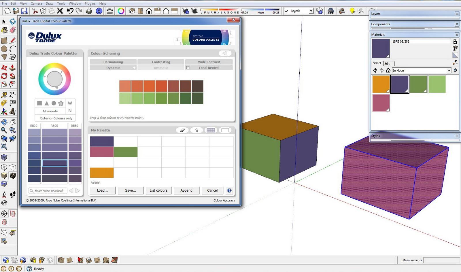 Arqpadao dulux trade plugin para sketchup for Azulejos para sketchup 8