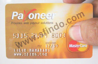 SFI Cash Card Untuk Menerima Bayaran Dollar Dari Lowongan Kerja Dari Rumah Di SFI