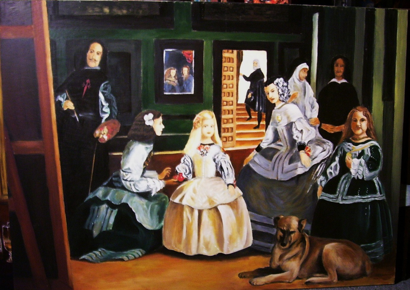 the painting las meninas essay An interesting essay which compares velázquez's las meninas with vermeer's  the art of painting i highly recommend having a look at it.