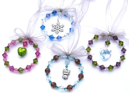 how to make beaded ornaments tutorials the