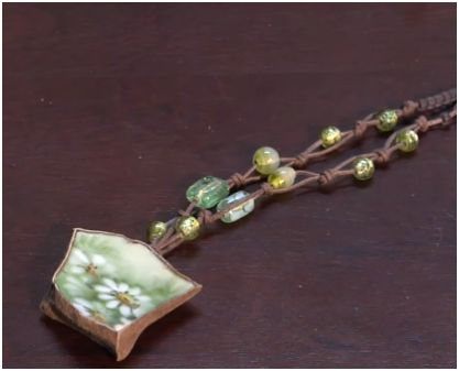 how to make broken china jewelry the easy way the