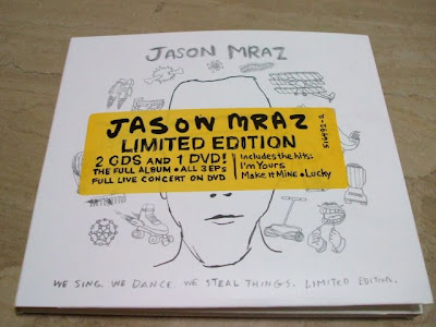 Music Haven: Collectibles #26: Jason Mraz - We Sing. We Dance. We ...