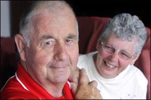 Rose Bedford is giving her husband, Rotorua Fire Chief Wayne Bedford her kidney.