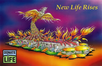 2010 Donate Life Rose Parade Float