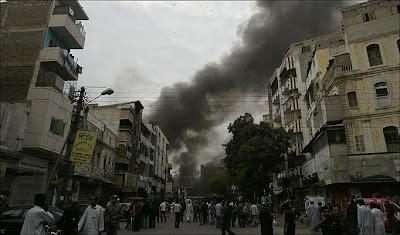 Bomb Blast in Pakistani Kashmir