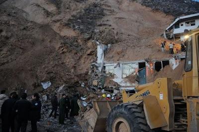 Shaanxi landslide