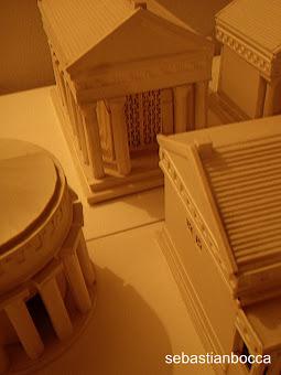 Modellino di Tempio Greco.
