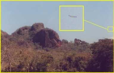 OVNI nos Retiros Interiores da Serra do Roncador - MT - Brasil - ago/2004