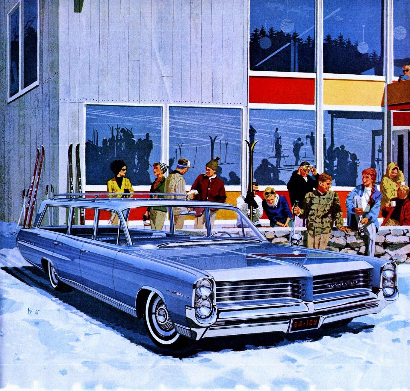 1964 Wide-Track Pontiac Safari