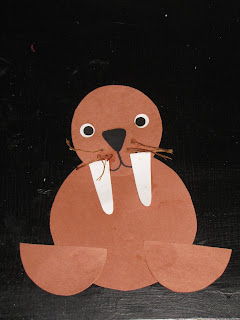 Arctic animals crafts for kids - photo#3