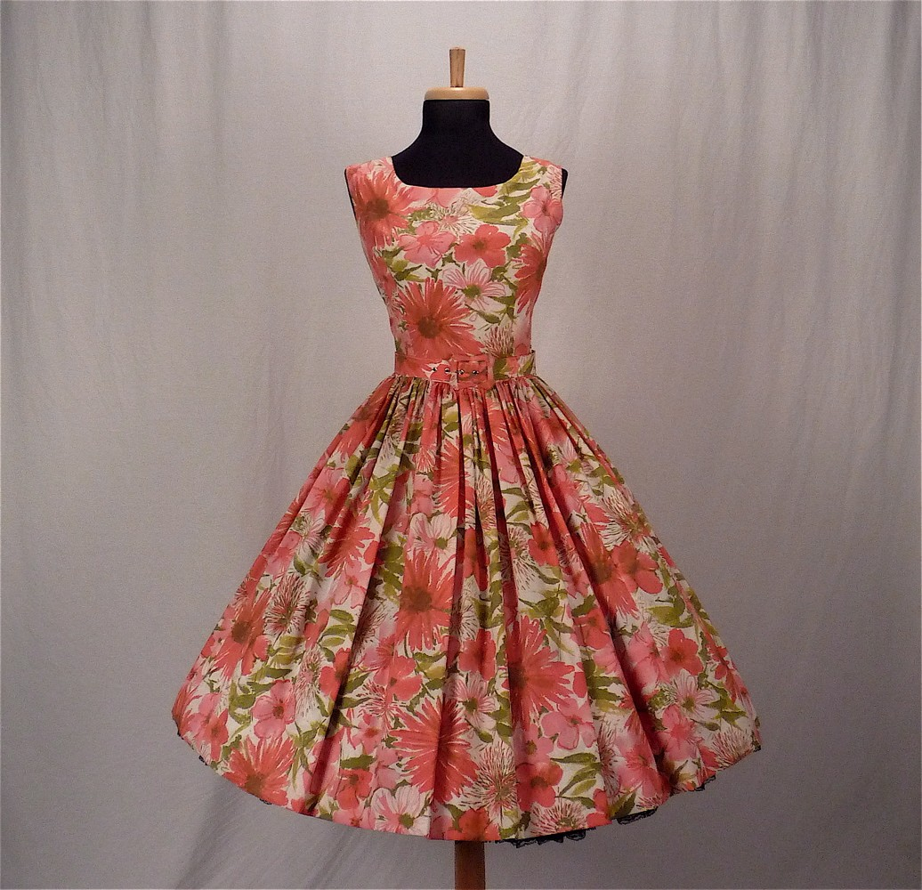 Amazing During The 1950s Womens Dresses Were Made With Halter Type Tops