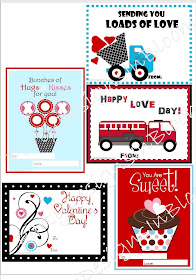 FREE Mini Valentine Cards!