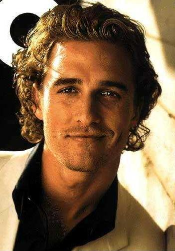 Matthew McConaughey long hair