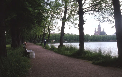 Park in Leningrad (St. Petersburg)