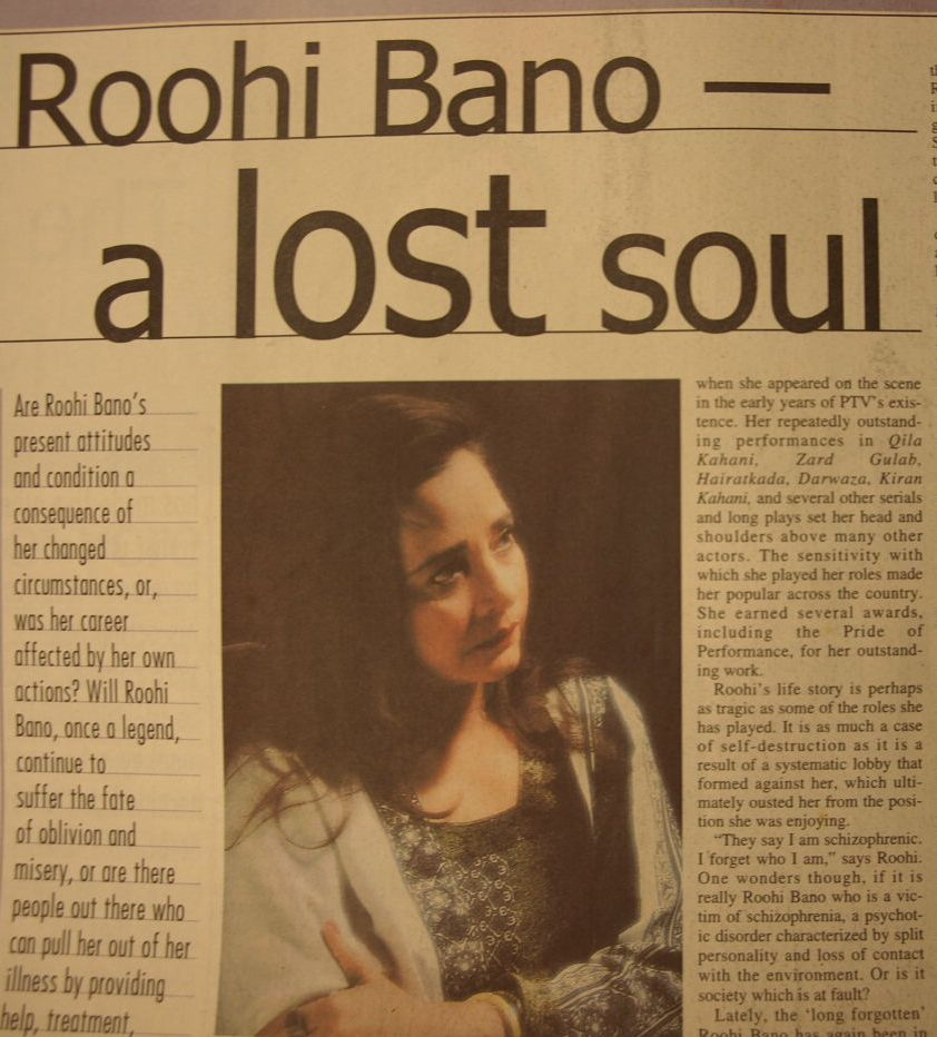 Roohi Bano Bringing Back The Lost Soul Karachiwali