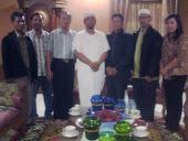 Foto Bersama Panitia dengan Ketua MUI Kota Medan