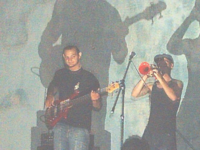 Facu y el Negro en pleno show!!!!